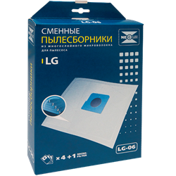 Набор пылесборников из микроволокна NeoLux LG-06 - фото 4209