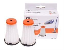 Комплект фильтров Electrolux EF144 (2шт) для пылесосов Ergo и Rapido - фото 4772