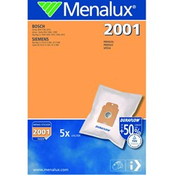 Набор пылесборников из микроволокна Menalux 2001 5шт для Bosch (тип К) - фото 4857