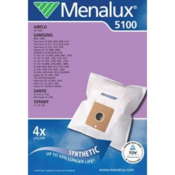 Набор пылесборников из микроволокна Menalux 5100 4шт для Samsung(VP77, SM07) - фото 4919
