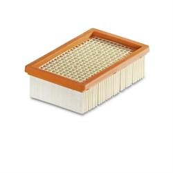 Karcher 2.863-005 Плоский складчатый фильтр для пылесосов Karcher MV4, MV5, MV6 - фото 5061