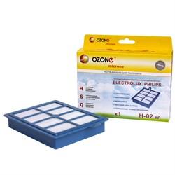 НЕРА-фильтр для пылесоса моющийся OZONE microne H-02 W - фото 5467