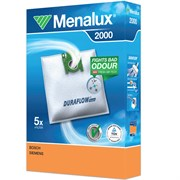 Набор пылесборников из микроволокна Menalux 2000 5шт для Bosch тип G