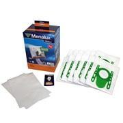 Набор пылесборников из микроволокна Menalux 2000 12шт для пылесосов Bosch тип G
