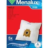 Набор пылесборников из микроволокна Menalux 3100 5шт для Miele FJM