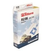 Мешки-пылесборники Filtero FLZ 06 ЭКСТРА, 4 шт, синтетические для Zelmer