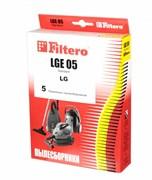 Мешки-пылесборники Filtero LGE 05 Standard, 5 шт, бумажные для LG