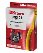 Мешки-пылесборники Filtero UNS 01 Standard, 3 шт, бумажные