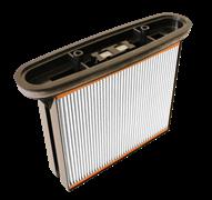 Фильтр складчатый из полиэстера для пылесоса  Bosch GAS25
