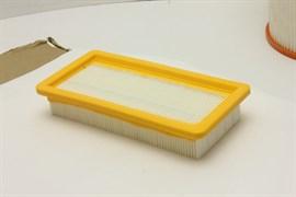Комплект фильтров (3 шт) EURO Clean для пылесосов Karcher DS5500, DS5600, DS5600 Mediclean (6.414-963, 6.414-631)