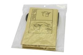 Комплект оригинальных бумажных пылесборников для пылесосов Интерскол ПУ-20/1000