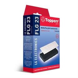 Набор фильтров Topperr FLG 23 для пылесосов LG - фото 10768