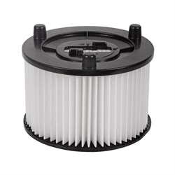 Картридж-фильтр из полиэстера для пылесоса Bosch UniversalVac15 и AdvancedVac20 - фото 10887