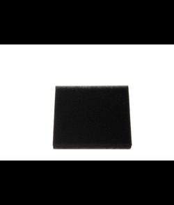 Поролоновый фильтр, черный, для пылесосов Bosch BX11.. - фото 11176