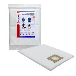 Синтетические мешки-пылесборники Ozone MXT-351/5 для BORT, OBI и SHOP VAC - фото 12180