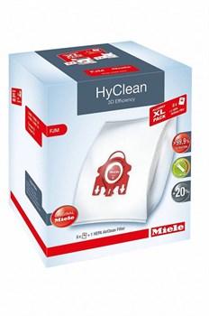 Miele FJM HyClean 3D Efficiency XL Pack 2 оригинальные мешки для пылесоса тип FJM + фильтр SF-HA50 - фото 12488