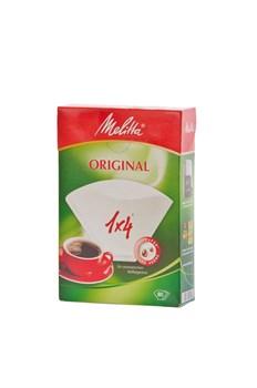 Бумажные фильтры для кофеварок, 1x4, 80 шт - фото 12578