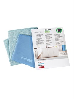 Bosch 00466148 Чистящие салфетки E-cloth, набор из 2 шт - фото 13294
