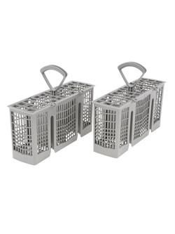 Двойная корзина для столовых приборов, с ручкой Bosch 00418280 - фото 13404