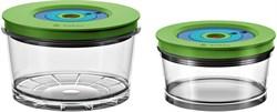 Набор: контейнеры для вакуумизации малый (750 мл) + большой (1500 мл) Bosch 17002895 для MMBV6.. - фото 13721