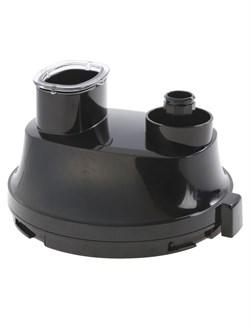 Крышка-редуктор к чаше блендера, чёрная, без толкателя Bosch 12004926 для MSM881X.. - фото 13773