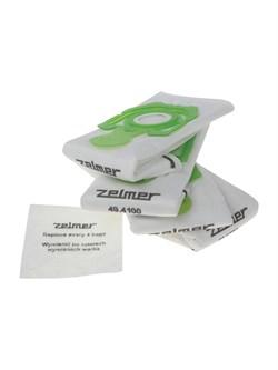 Пылесборники ZELMER ZVCA200B / A494120.00/12003419, 4шт + выпускной фильтр - фото 15830