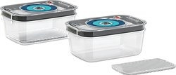 Набор из 2 вакуумных контейнеров (1,0л) Bosch 17004576 - фото 17771