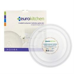Тарелка Eurokitchen для СВЧ-печи, тип вращения крестовина, 245 мм N-01 - фото 17898
