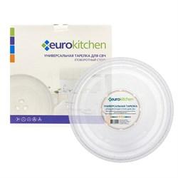 Тарелка Eurokitchen для СВЧ-печи, тип вращения крестовина, 245 мм N-02 - фото 17899