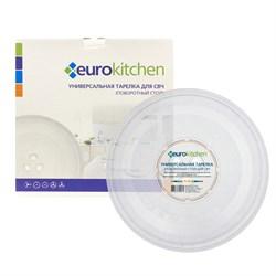 Тарелка Eurokitchen для СВЧ-печи, тип вращения коуплер, 245 мм N-06 - фото 17913