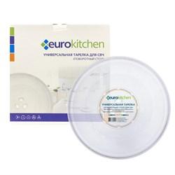 Тарелка Eurokitchen для СВЧ-печи, тип вращения коуплер, 255 мм N-07 - фото 17917