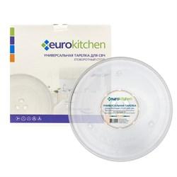 Тарелка Eurokitchen для СВЧ-печи, тип вращения коуплер, 255 мм N-08 - фото 17921