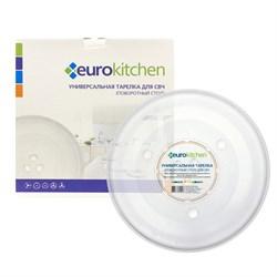 Тарелка Eurokitchen N-12 для СВЧ-печи, тип вращения коуплер, 288 мм - фото 17937