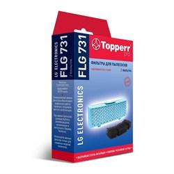 Набор фильтров Topperr FLG 731 для пылесосов LG - фото 20927