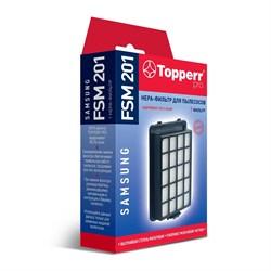 НЕРА-фильтр Topperr 1148 FSM201 для пылесоса Samsung серии SC21F50, SC15H40.. - фото 20962