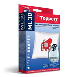 Набор пылесборников из микроволокна Topperr ML-30 для пылесосов Miele, Hoover - фото 21022
