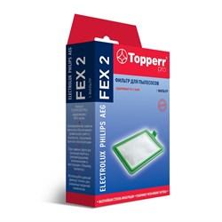 HEPA фильтр Topperr FEX2 для пылесосов ELECTROLUX - фото 21113