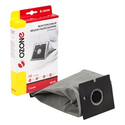 OZONE microne multiplex MX-08 синтетический мешок-пылесборник многократного использования для LG - фото 21520