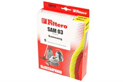Мешки-пылесборники Filtero SAM 03 , 5 шт, бумажные - фото 4723