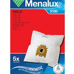 Набор пылесборников из микроволокна Menalux 3100 5шт для Miele FJM - фото 4869