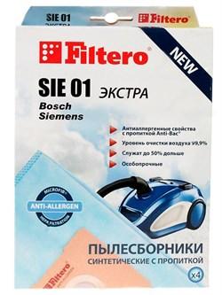 Набор пылесборников из микроволокна Filtero SIE 01 Экстра для пылесосов Bosch (тип G) - фото 4992