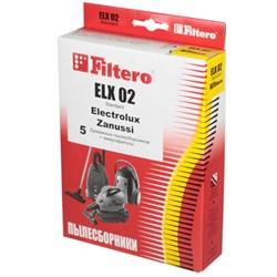 Мешки-пылесборники Filtero ELX 02 Standard, 5 шт, бумажные - фото 5334