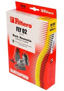 Мешки-пылесборники Filtero FLY 02 Standard, 5 шт, бумажные - фото 5337