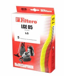 Мешки-пылесборники Filtero LGE 05 Standard, 5 шт, бумажные для LG - фото 5341