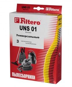 Мешки-пылесборники Filtero UNS 01 Standard, 3 шт, бумажные - фото 5348