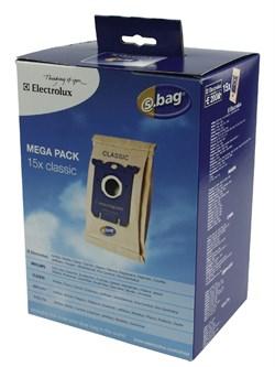 Набор бумажных пылесборников Electrolux E200M 15шт S-BAG dust bag - фото 5977