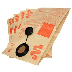 Комплект оригинальных бумажных пылесборников для пылесоса MAKITA 445X - 5 шт - фото 6146