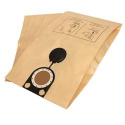Комплект оригинальных бумажных пылесборников для пылесосов Bosch GAS 25 L SFC Professional,  -  5 шт. в упаковке - фото 6163