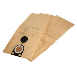 Комплект оригинальных бумажных пылесборников для пылесосов METABO ASR 2050, SHR 2050 M  -  5 шт - фото 6219