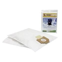 Пылесборник синтетический OZONE MXT-411/5 (5шт) для профессиональных пылесосов BOSCH GAS 55 - фото 9644